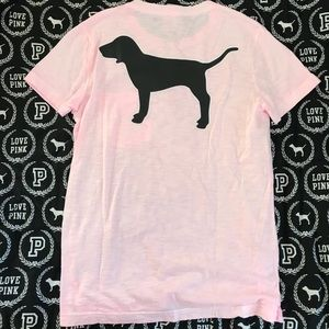 PINK Victoria's Secret Campus Dog Tee